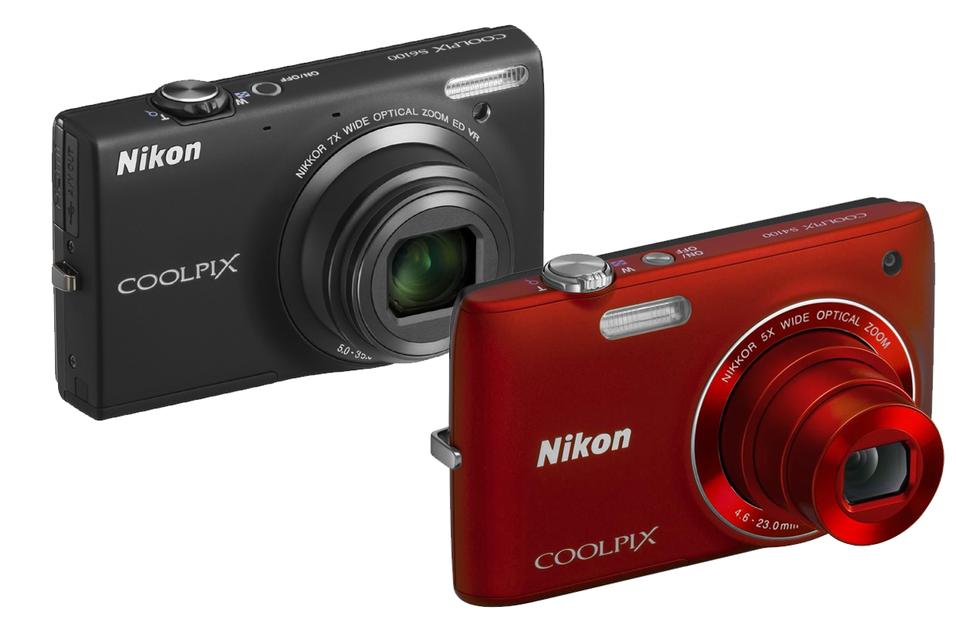 Nikon Coolpix S4100 og S6100 kansellert