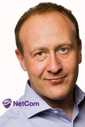 Kommunikasjonssjef Øyvind Vederhus i TeliaSonera (NetCom og Chess).