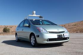 Google-bilen kan til og med kjøers av blinde.