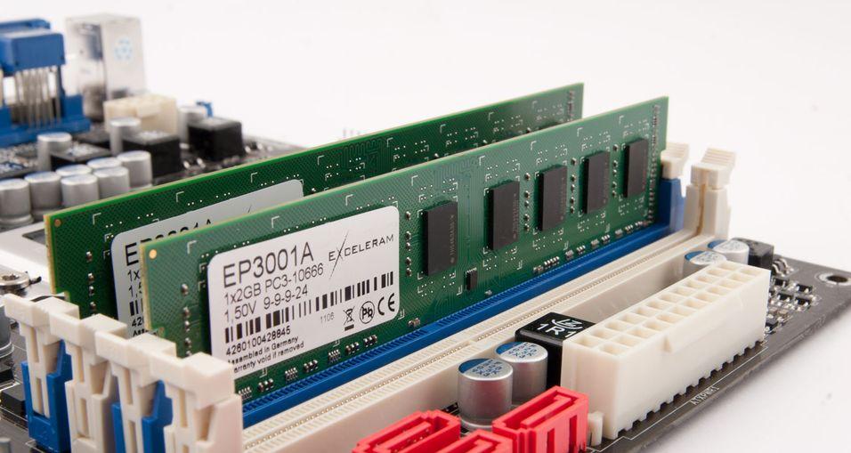 TEST: Exceleram DDR3-1333 2x2 GB CL9