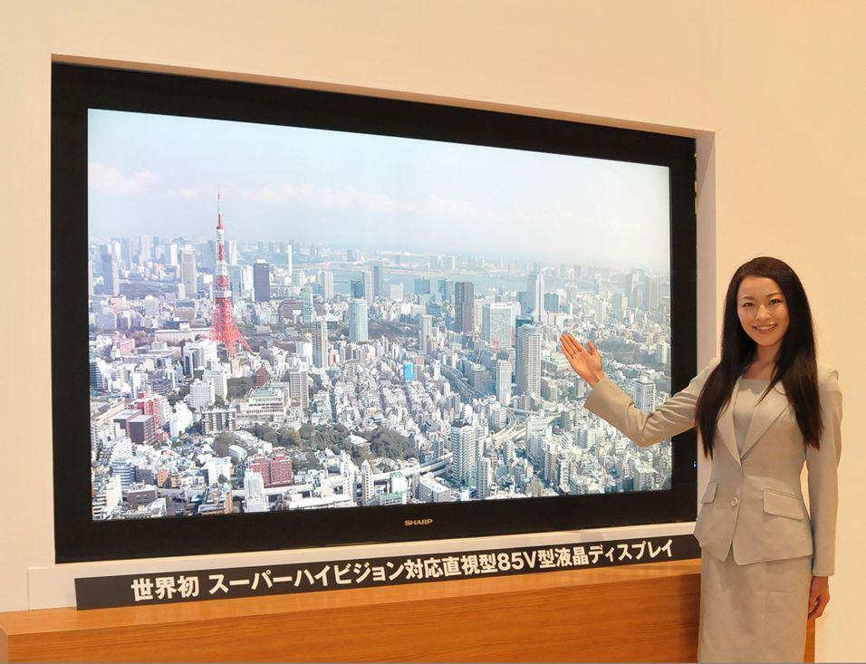Denne TV-en har drømmeoppløsning