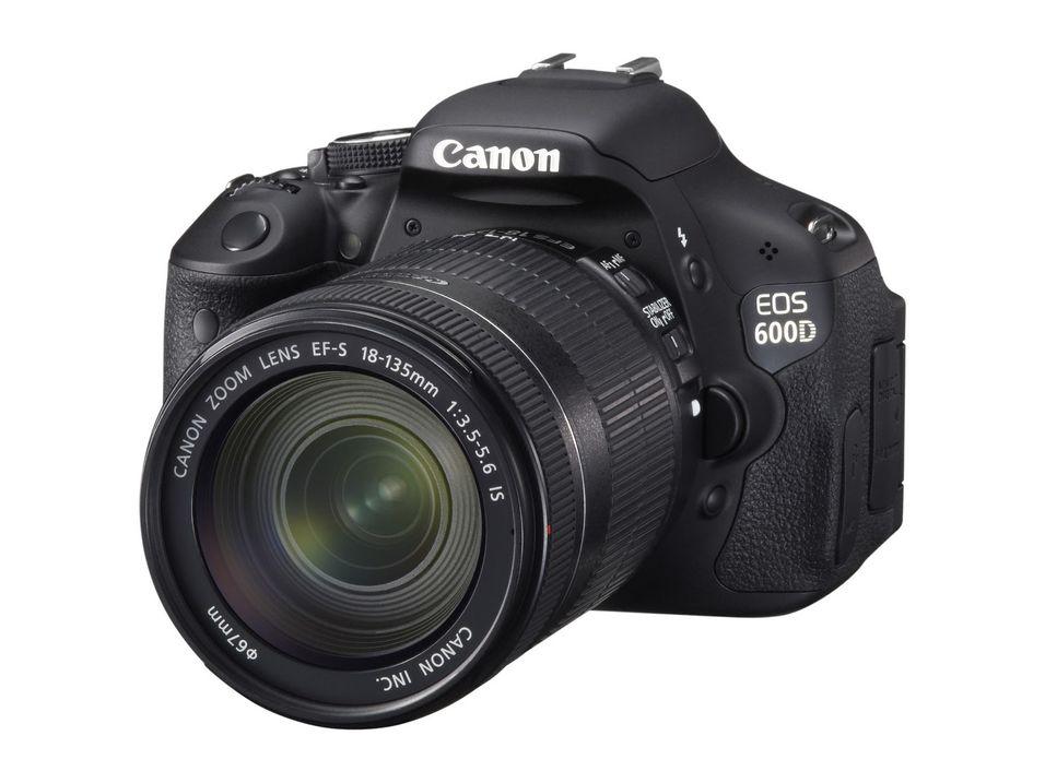 Ny firmware til Canon EOS 600D
