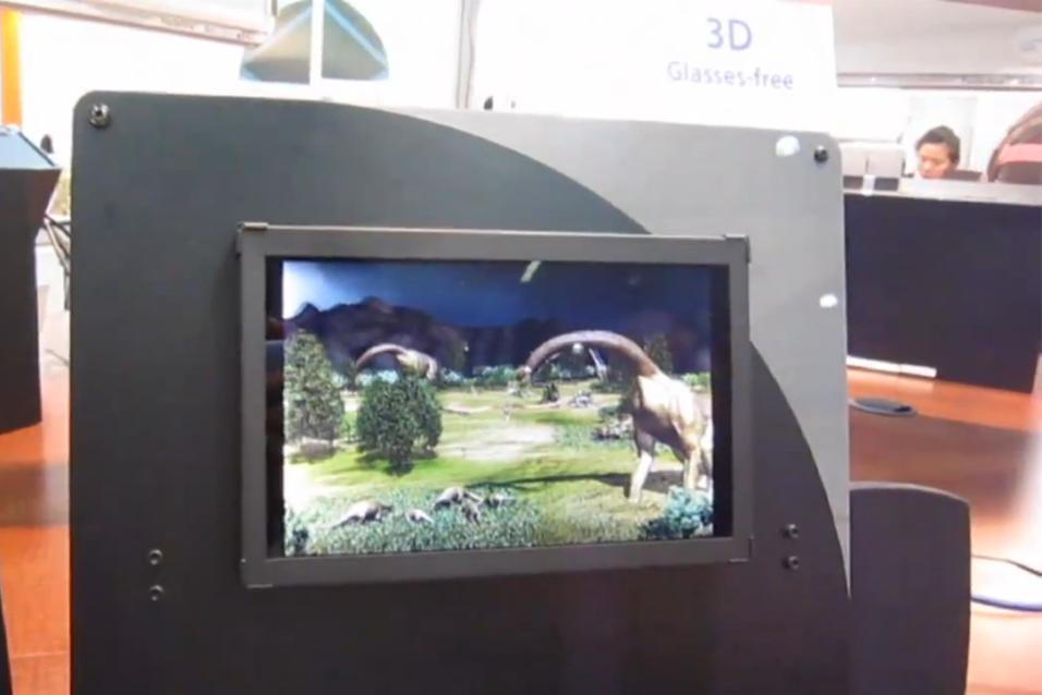 Brillefri 3D-skjerm for nettbrett?