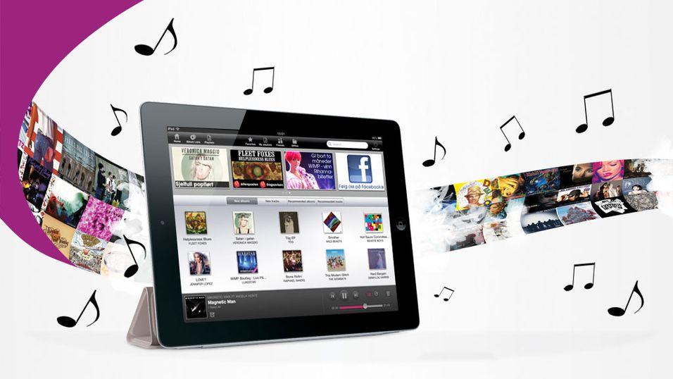 iPad-versjon av WiMP lansert i dag