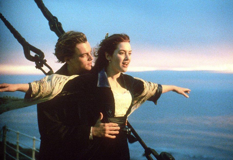 Titanic slippes i 3D