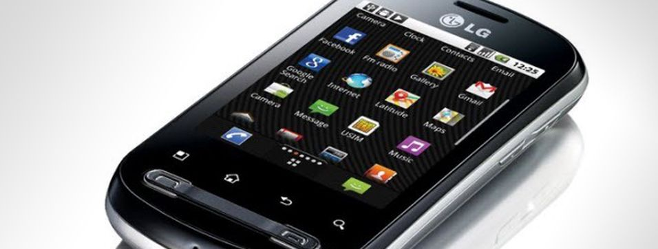TEST: LG Optimus Me P350