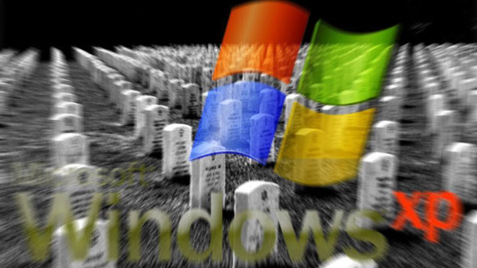 – Ikke bruk Windows XP