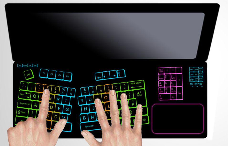 Laptop lar deg skreddersy tastaturet