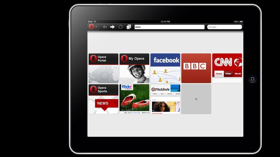 Nå kommer Opera Mini for iPad