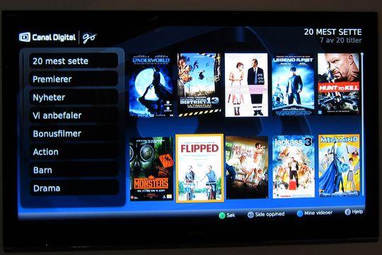 Nå får du VOD som på dekoderen som Canal Digital-kunde.
