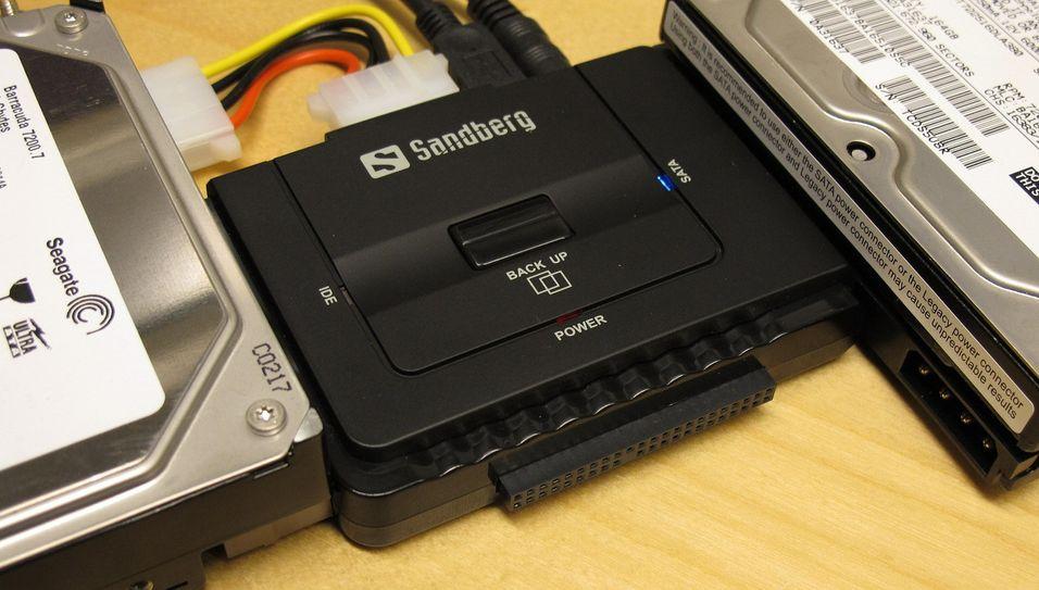 TEST: Sandberg USB Multi Hard Disk Link