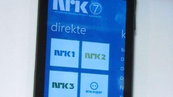 NRK-applikasjonen ble skrevet av en entusiast i løpet av tre dager i romjula, hevder Microsoft.