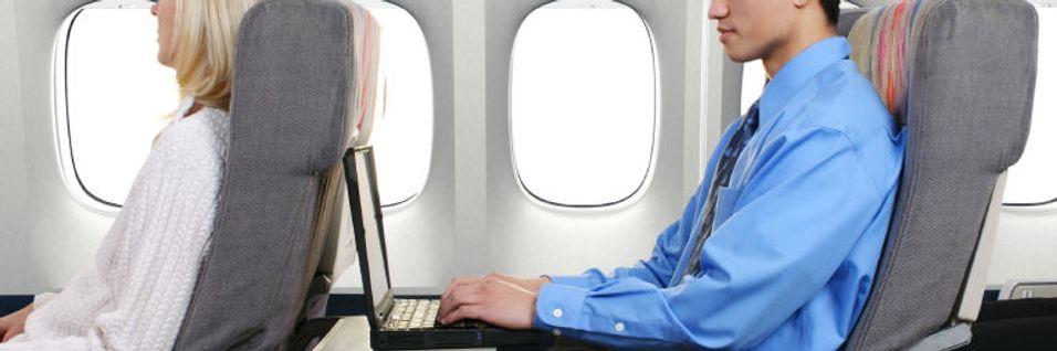 Snart mulig med videotelefoni på fly