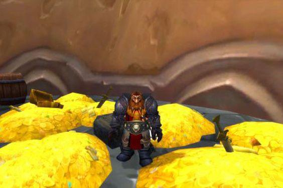 Du bør kanskje tenke deg om neste gang du skal kjøpe virtuelt gull i World of Warcraft.