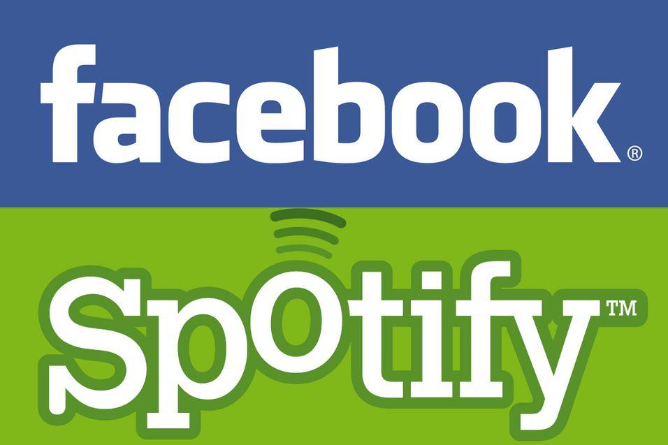 - Facebook og Spotify samarbeider