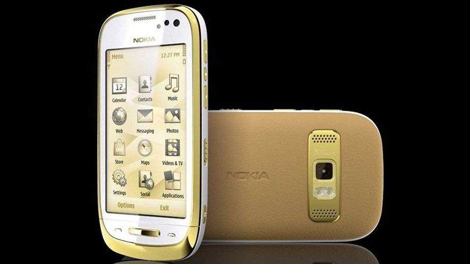 Frister en mobil i gull?