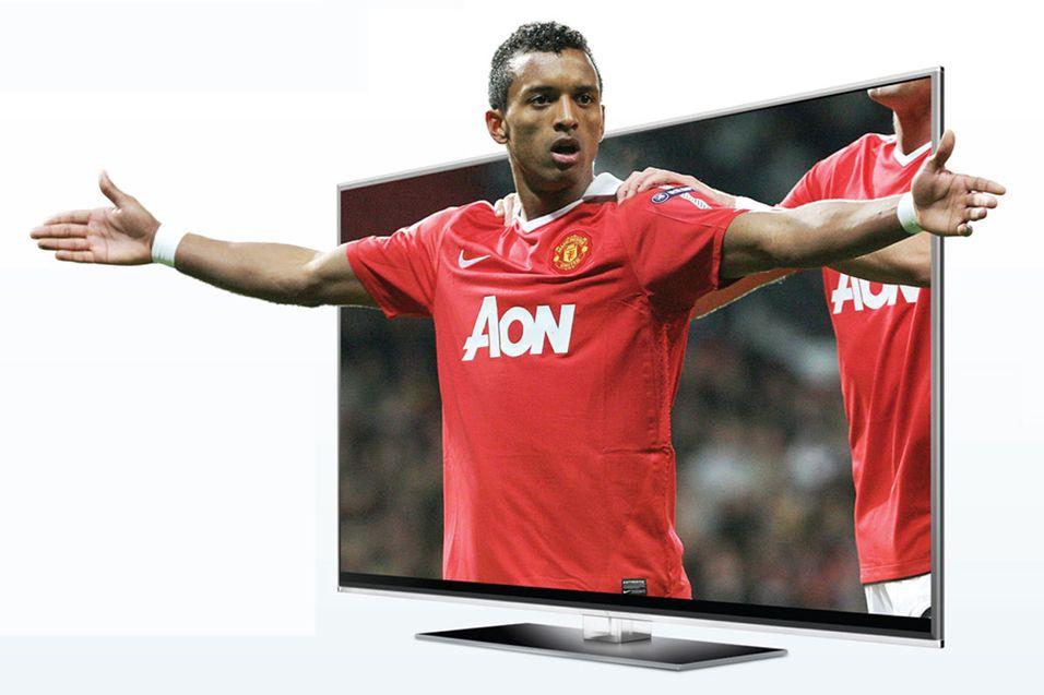 Champions League-finalen vises på storskjerm i 3D