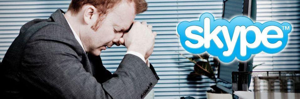 Skype nede, igjen