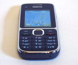 Tastene kommer først for Nokia C2.