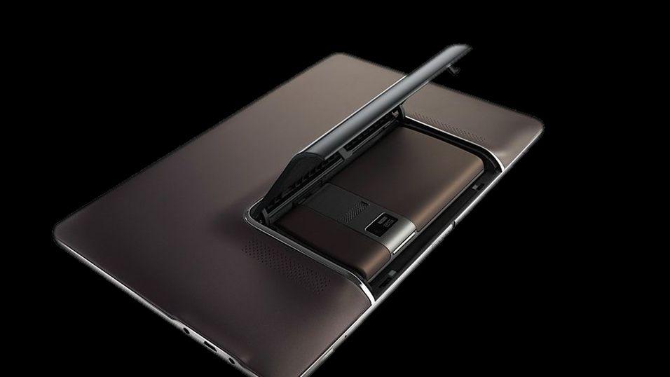 Nettbrett har mobiltelefon i magen