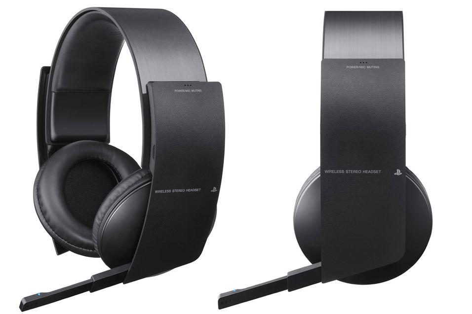 Nytt trådløst hodesett for PS3