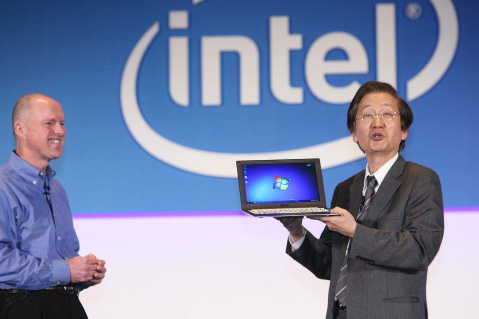 Fra Ultrabook-lanseringen. Bilde: Intel