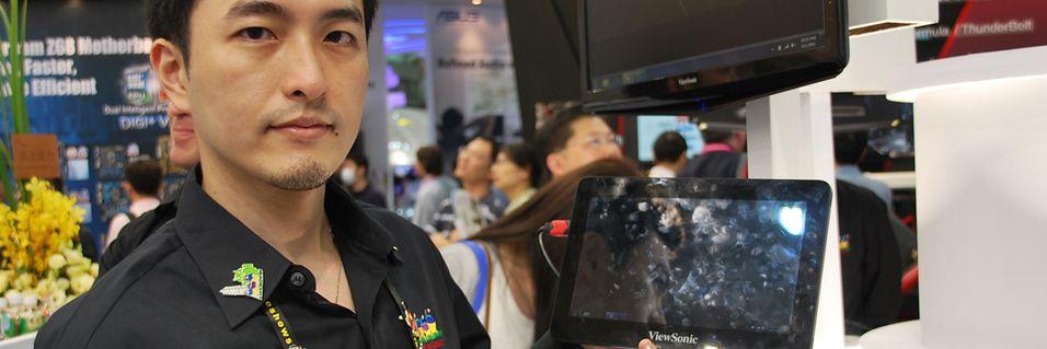 Nettbrett med både Windows 7 og Android