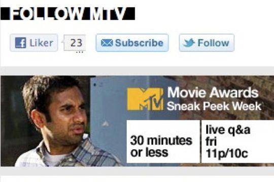 Liker du MTV og ønsker å holde deg oppdattert? Ved å klikke på Follow blir du enkelt abonnent på deres Twitter-konto.