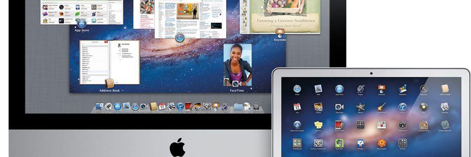 Dette er nye OS X Lion