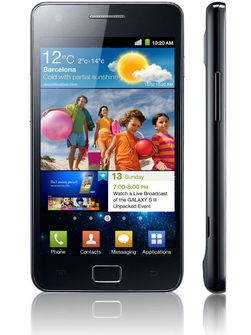 Galaxy S II er en knakende god mobil som i tillegg stråler lite.