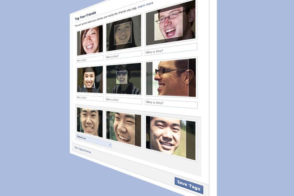 Facebook vet hvordan du ser ut og jakter på bilder av deg