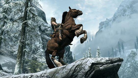 Endelig har vi fått se hestene.