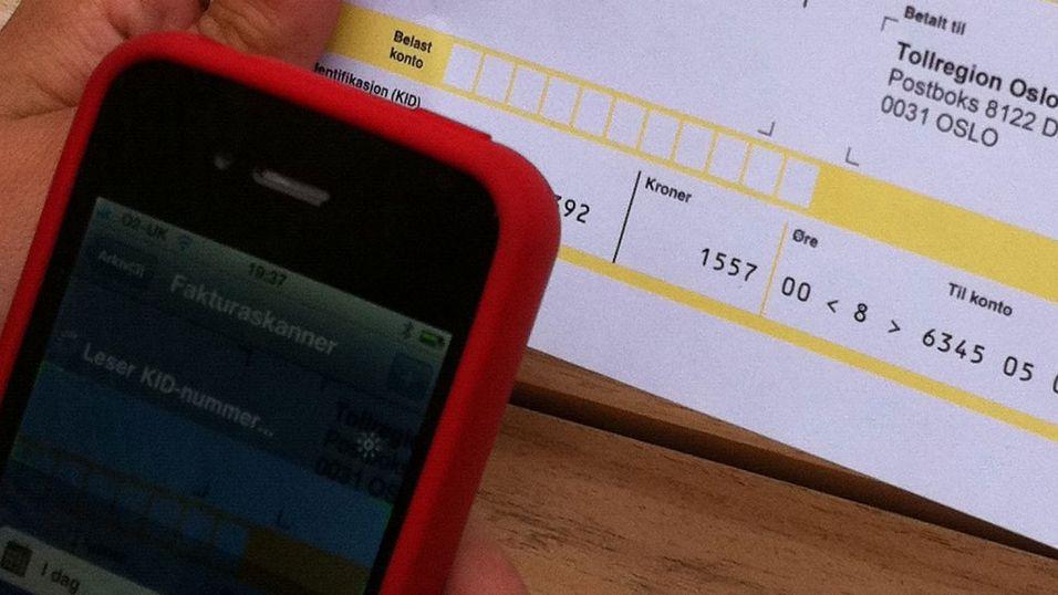 App fyller ut regninger for deg