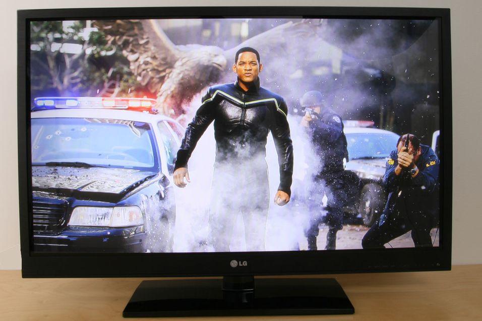 Plasma-TV er ut