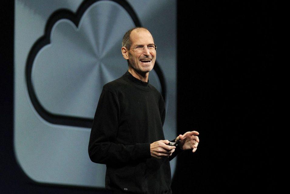 Steve Jobs fra Apple. Foto: Reuters