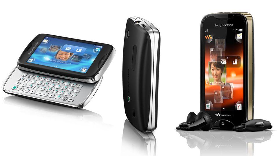 Sony Ericsson med to nye