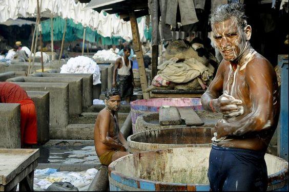 Det er ikke bare klær som blir vasket i verdens største vaskeri. Foto: Lars Åke Andersen, frifoto.no