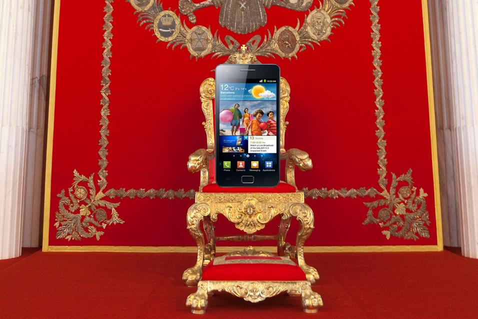 Nokia mister tronen