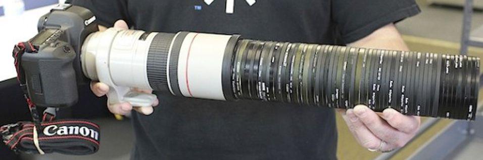 Hvordan ser verden ut gjennom 50 UV-filtere?