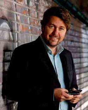 Administrerende direktør Arild Hustad i Tele2.
