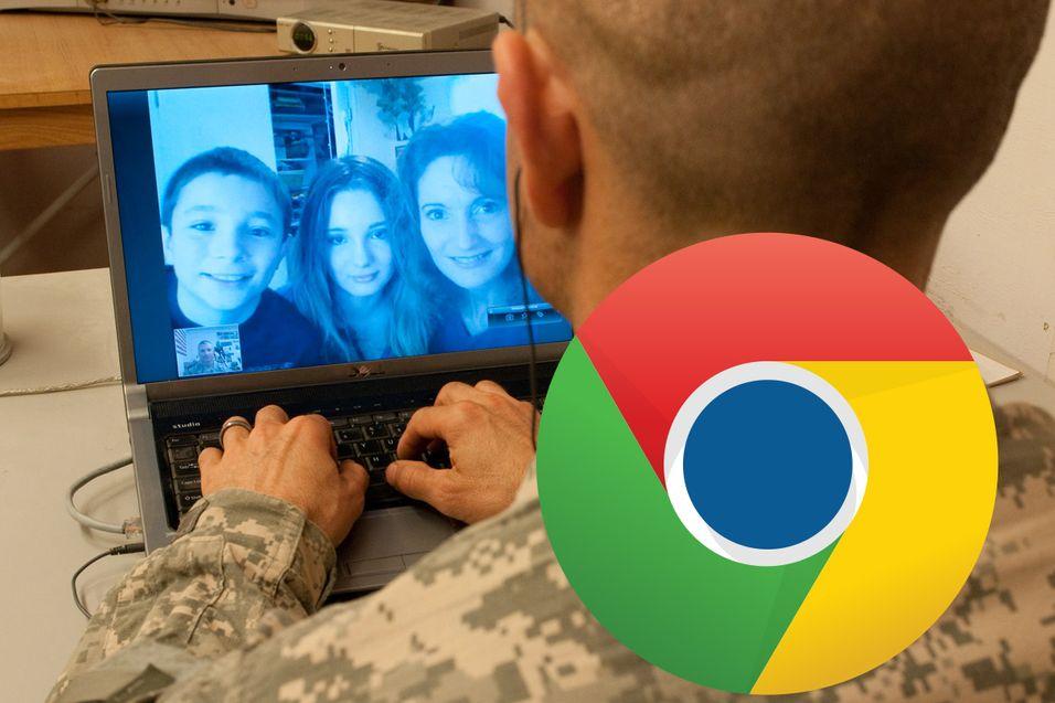 Google vil lansere Skype-aktig tjeneste i Chrome