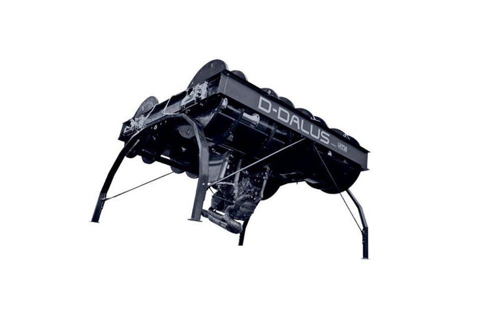 Luftfartøyet D-Dalus kan erstatte helikoptre