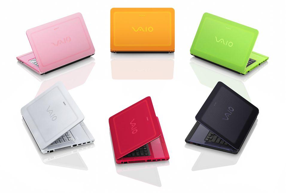 Bærbare fargeklatter fra Sony