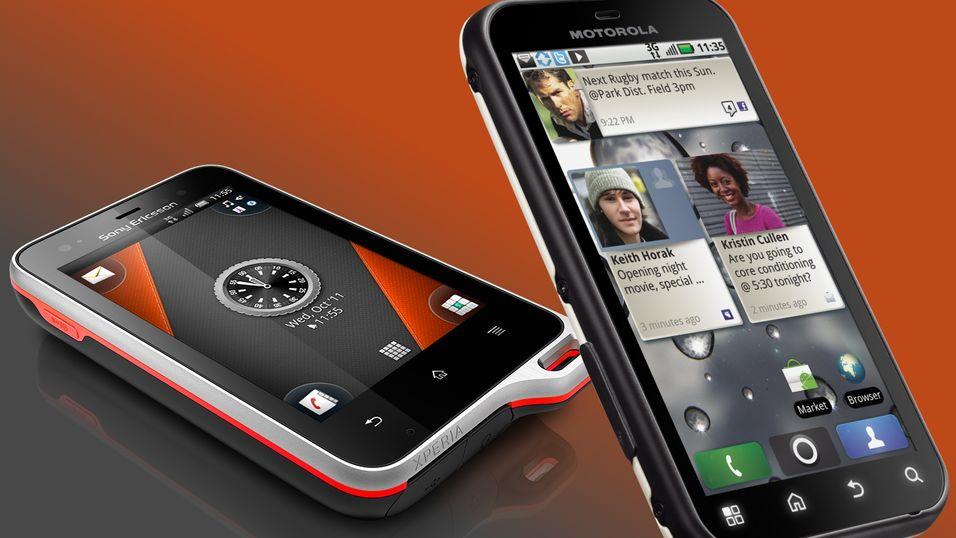 Xperia Active eller Motorola Defy?