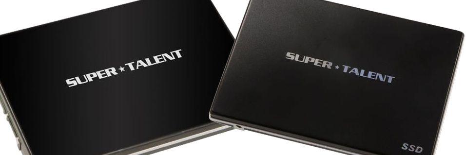 Super Talent utvider SSD-utvalget