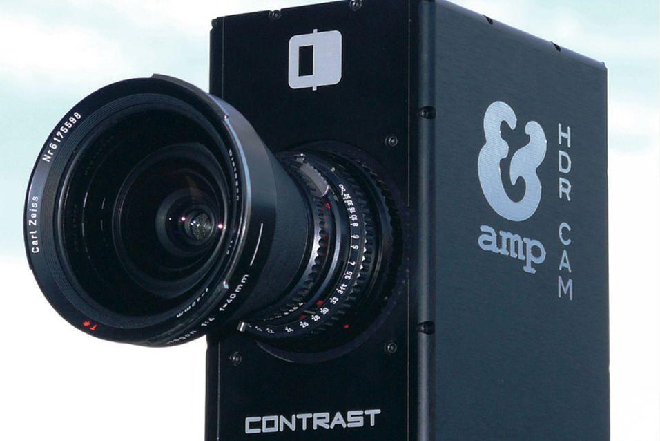Videokamera fra AMP tar opp HDR-video