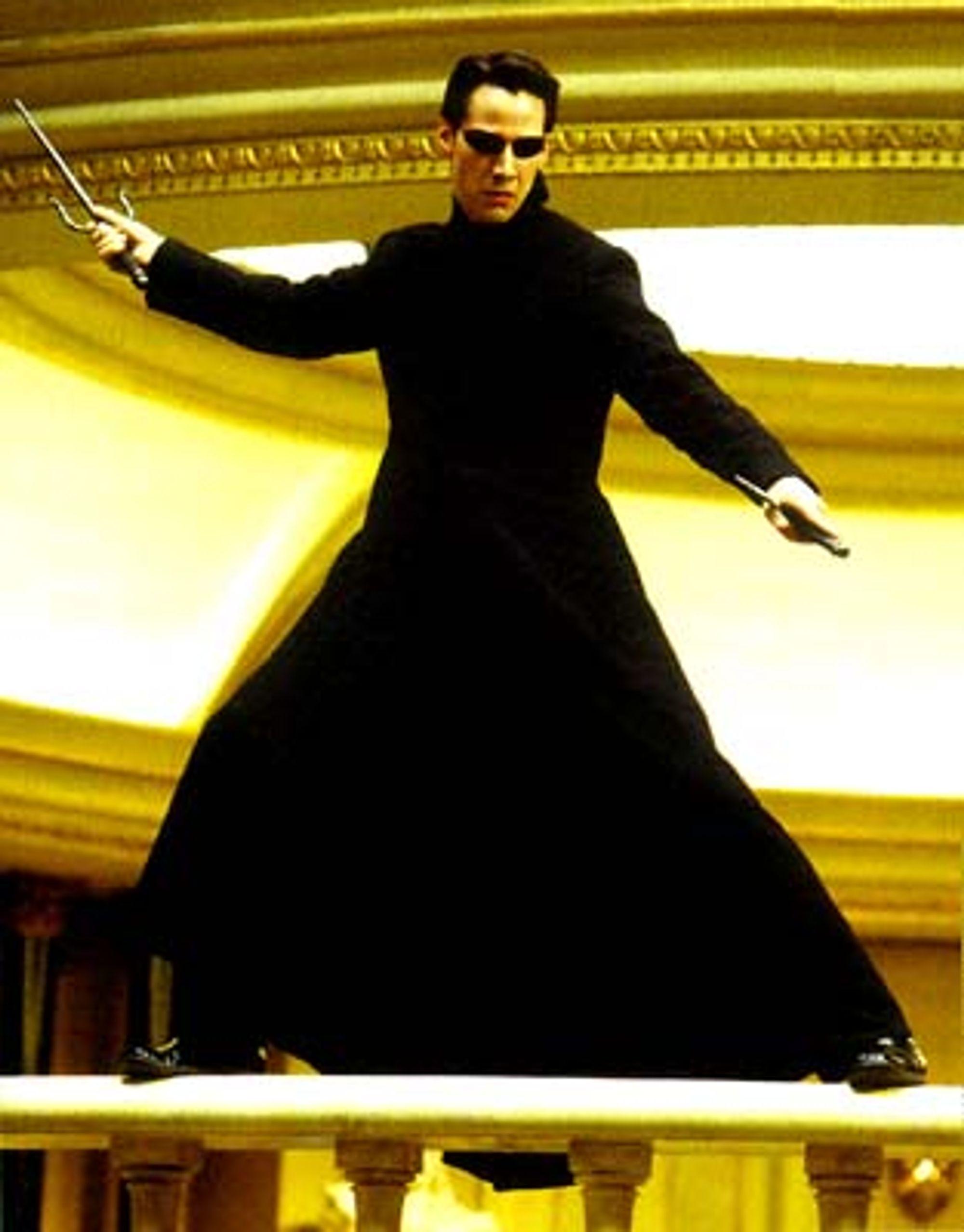 Keanu Reeves blir igjen å se i en sci-fi produksjon, dog ikke som ikke lenger som Neo.
