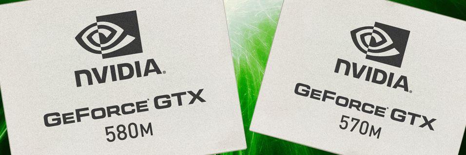 Nvidia slipper toppmodell for bærbare