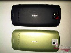 Dette er baksiden av det som for noen dager siden ble omtalt som N5. Sannsynligvis er denne identisk med Nokia N500 Fate.