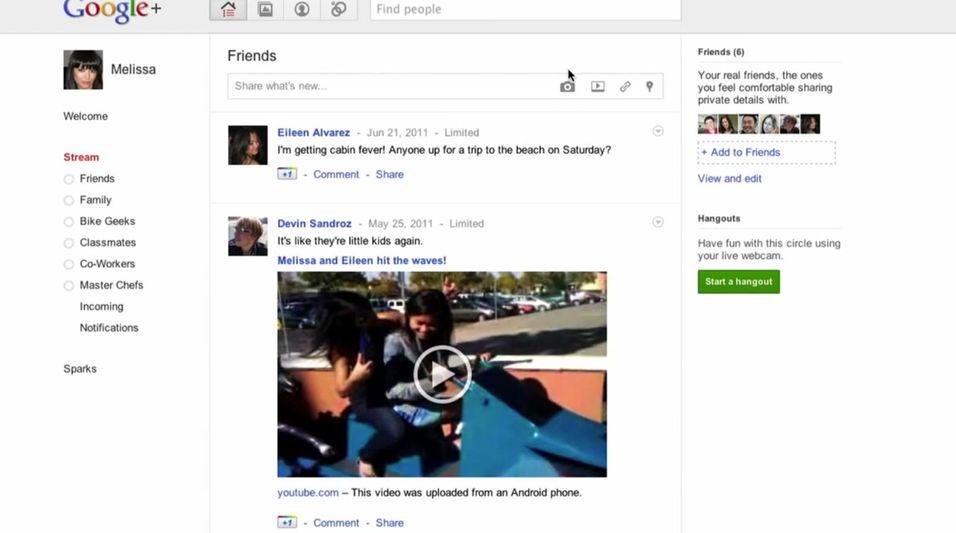Slik er Googles Facebook-konkurrent